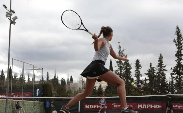 Las imágenes del torneo de tenis