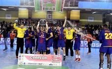 El Barça conquista su séptima Copa consecutiva