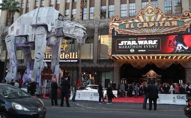 'Star Wars: Los últimos jedi' es el segundo mejor estreno de la historia