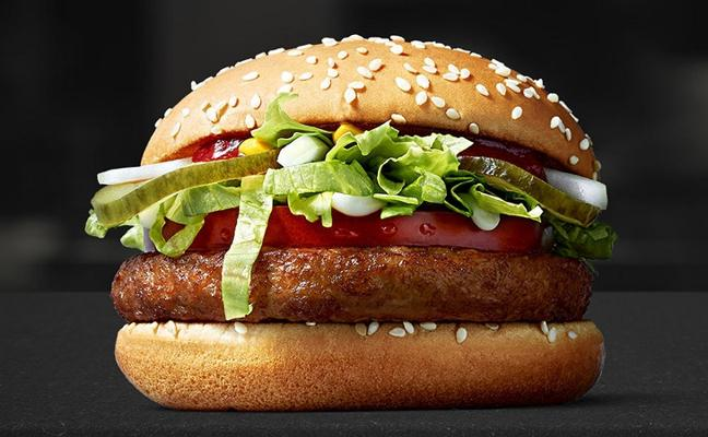 McDonald's lanza una hamburguesa vegana