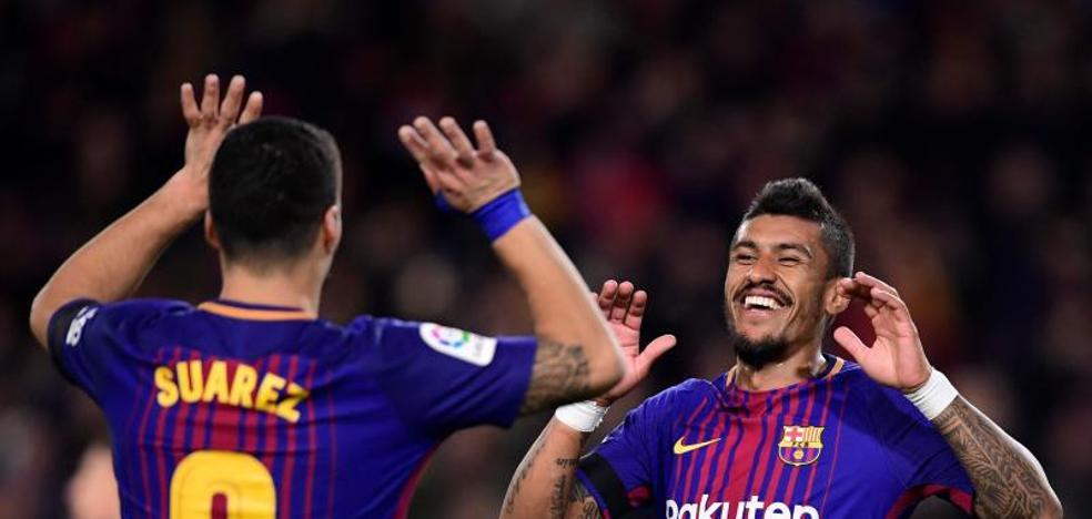 El Barça llega al clásico en la cresta de la ola