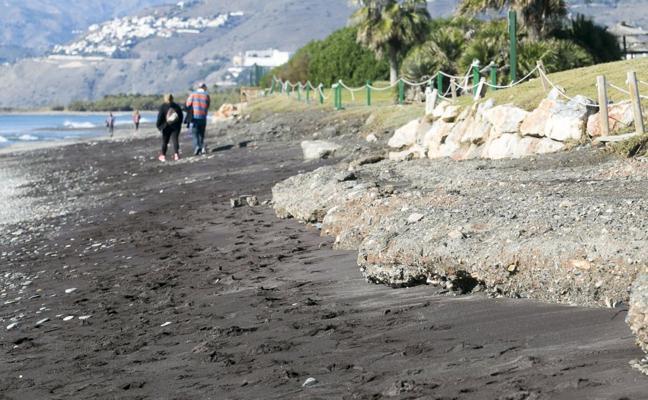 La gran despedida del 'escalón' de la playa
