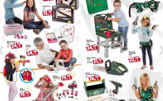 El catálogo de la mayor red de jugueterías de Almería, foco de halagos por su afán de inclusión