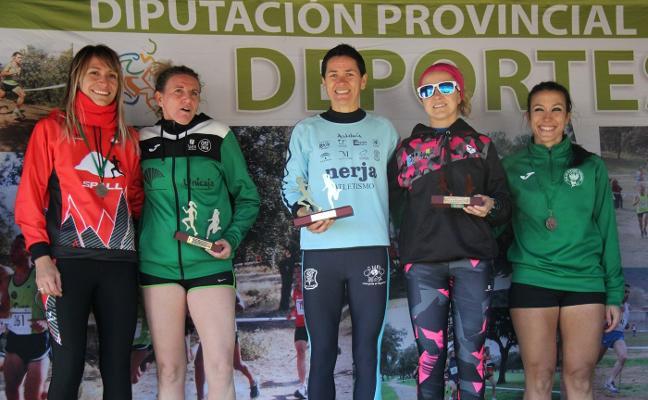 Lola Chiclana y Álvaro Aranda se imponen en el XVIII Campo a Través La Garza en Linares