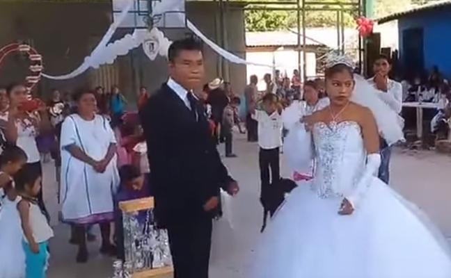 """""""La boda más triste del mundo"""" que indigna a la Red"""