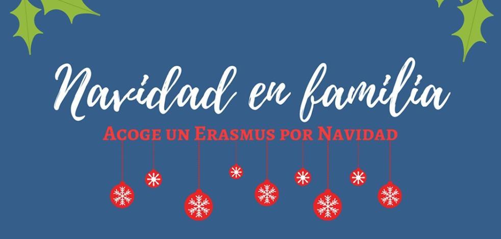 'Acoge un Erasmus por Navidad', la iniciativa para que ningún estudiante se quede solo en Jaén