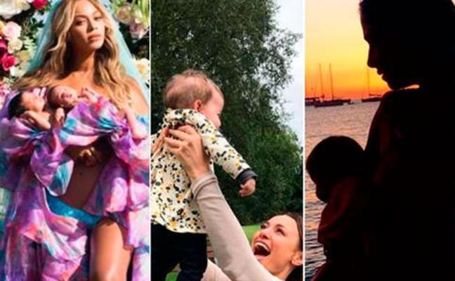 Las famosas que fueron madres en 2017