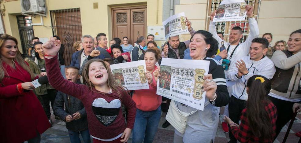 El día que la suerte llegó a Granada