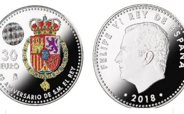 La nueva y original moneda de 30 euros que podrás ver pronto en España