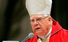 El Papa lamenta la muerte de Law y no habla de los escándalos de pedofilia