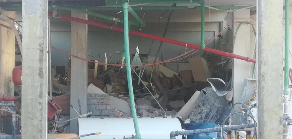 Un instituto de Huércal-Overa registra una explosión