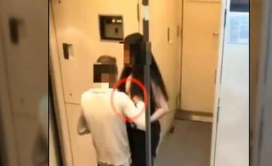 Así fue la agresión sexual a una mujer en un vagón de cercanías