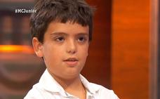 El murciano Juan Antonio de 'Masterchef Junior' enamora a las redes