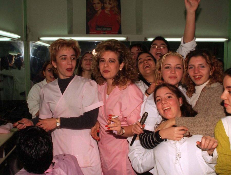 Hace 20 años la Lotería de Navidad repartió en Granada 38.000 millones de pesetas