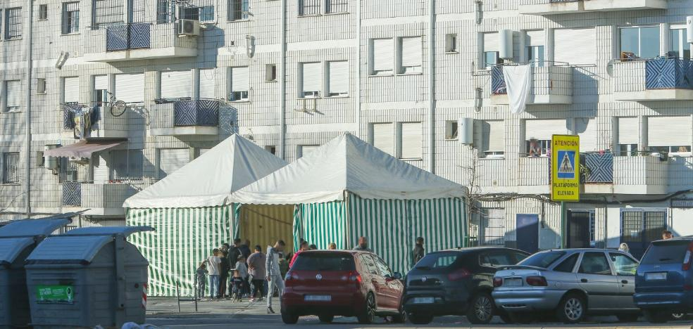 Ofensiva contra la instalación de carpas ilegales en la vía pública en la zona Norte