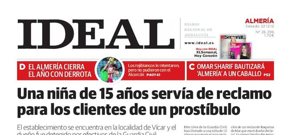 2012: Una niña de 15 años servía de reclamo para los clientes de un prostíbulo