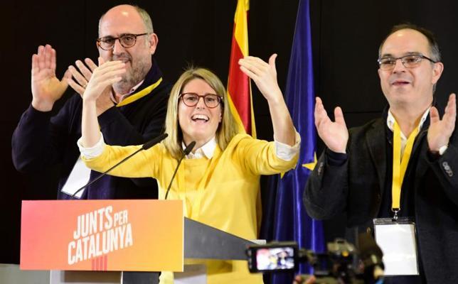 JuntsxCat asegura que el independentismo tiene el mandato popular para formar gobierno