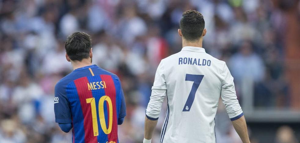 Cristiano contra Messi: cara a cara de Oro