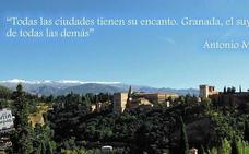 14 frases y citas de famosos sobre Granada que te van a encantar