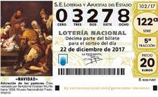 Lotería de Navidad: Castril celebra el 03278, quinto premio