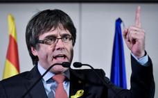 La gran noche de Puigdemont: «La República catalana ha ganado a la monarquía del 155»