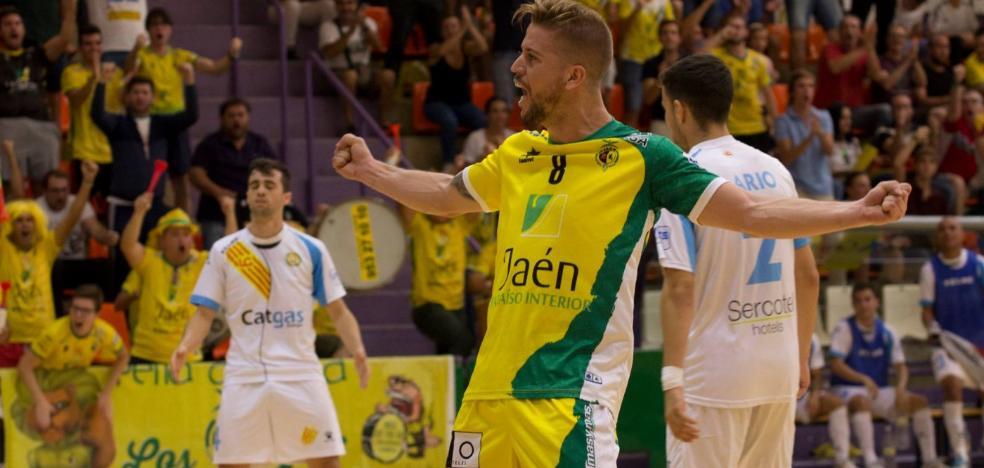 El Jaén FS en busca del primer 'regalo' de esta Navidad