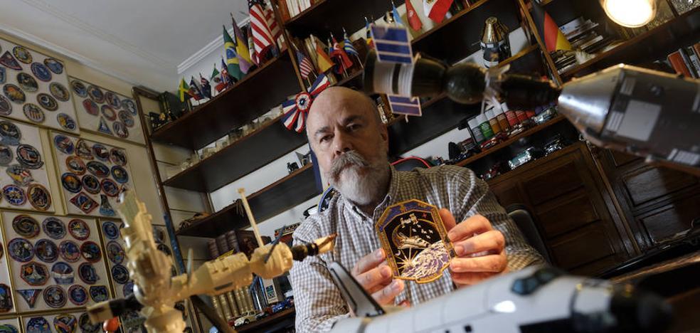 El médico español que 'viaja' al espacio con la NASA sin moverse de casa