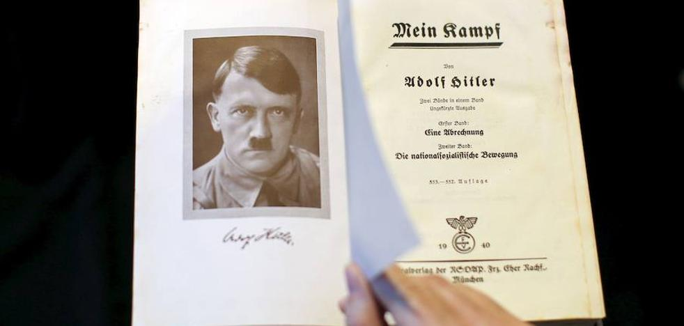 El 'Mein Kampf' de Hitler: de libro prohibido a curso especializado en Holanda