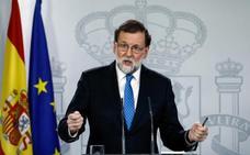 Rajoy a los militares en el exterior: «Sois la mejor versión de España»