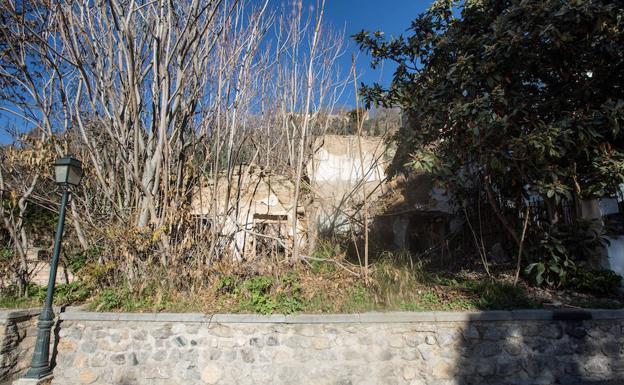 Entorno de la calle Santo Sepulcro del Sacromonte, 9.