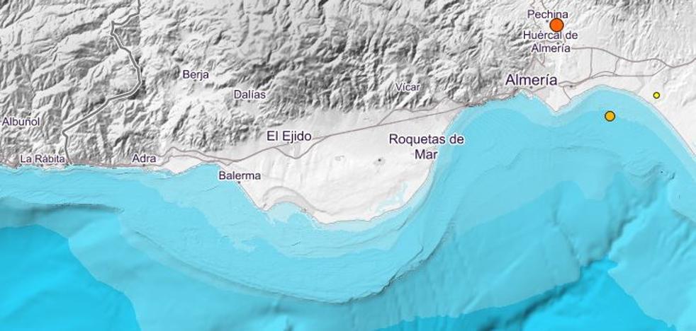 Almería registra varios terremotos en las últimas horas