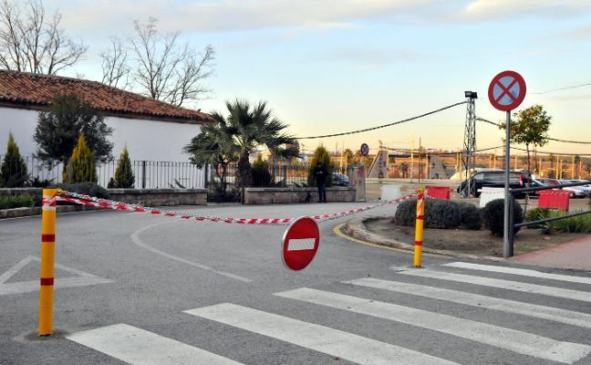 La valla levantada en la Estación de Madrid solo modifica su acceso