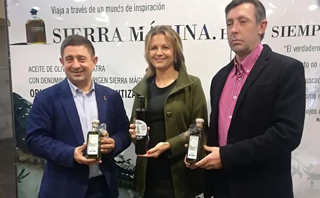 Sierra Mágina exhibe sus primeros aceites