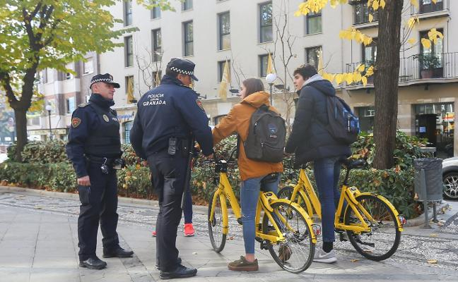 Las denuncias a ciclistas se duplican en un año