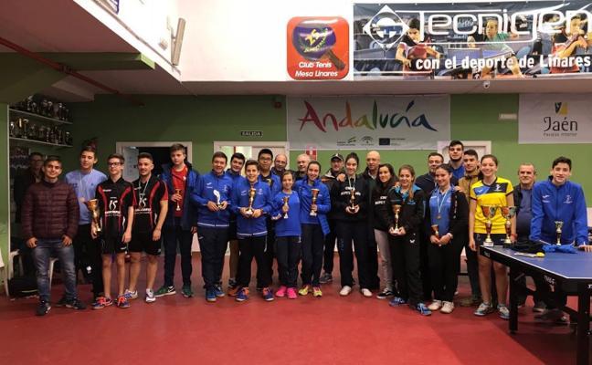 21 podios para Linares en la Copa Diputación