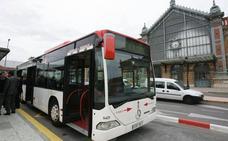 Una decena de líneas de bus se ven afectadas hoy por la San Silvestre