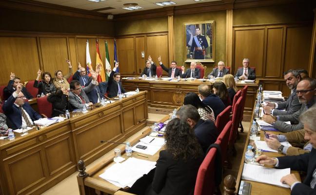 Diputación da luz verde a sus cuentas de 2018 con el voto en contra de PSOE e IU