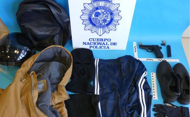 Detenido en Albolote el autor de al menos 13 robos con arma en casinos de Almería y Granada