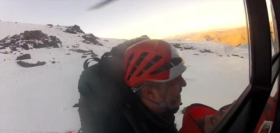 Cinco rescates en menos de 4 horas en Sierra Nevada