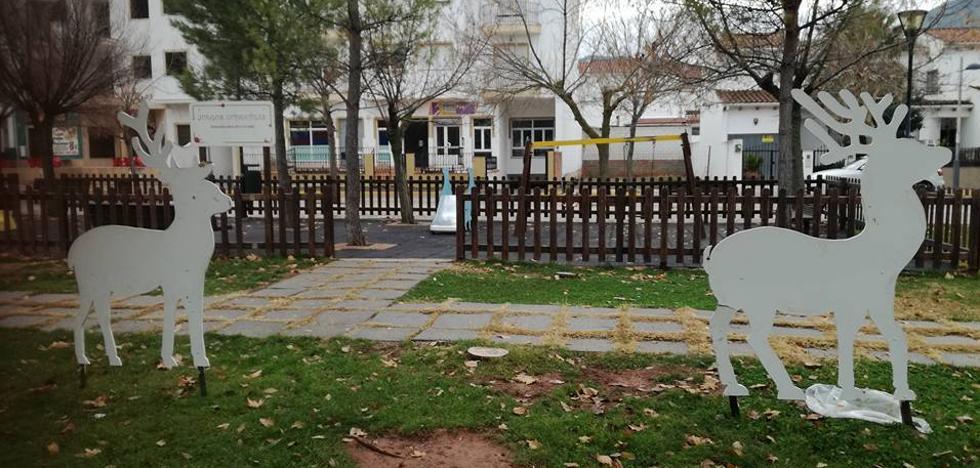 Los renos de La Puerta de Segura amanecen en Puente Génave