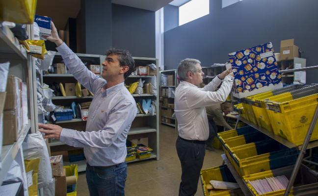 Correos incrementa un 80% su actividad por el comercio electrónico