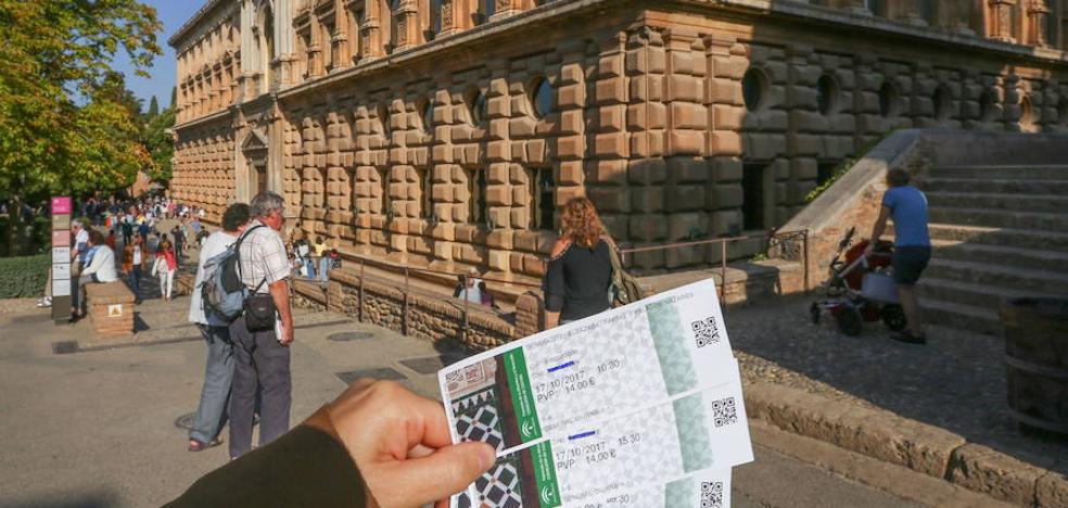 Las entradas a la Alhambra se reservan y venden desde este lunes solo por el nuevo sistema