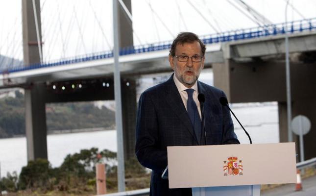 Rajoy señala a Cataluña como «único factor de incertidumbre» en España