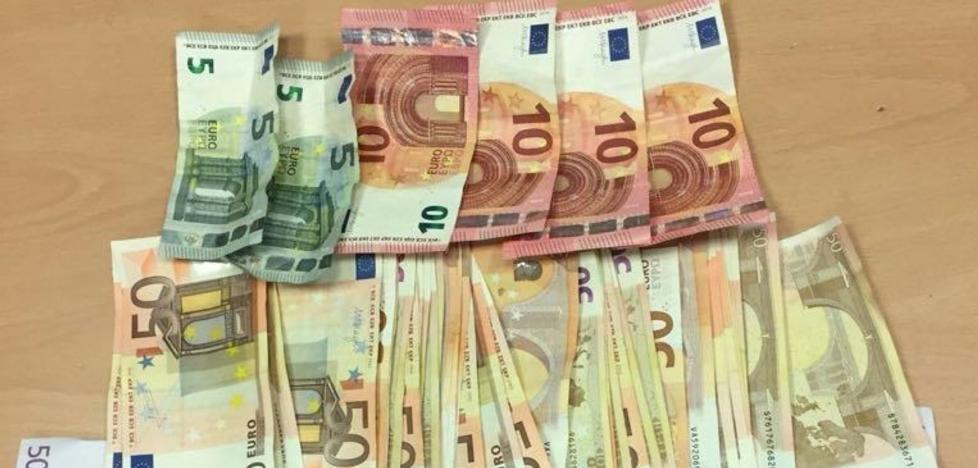 La Policía Local sorprende a un indigente con 18.650 euros encima