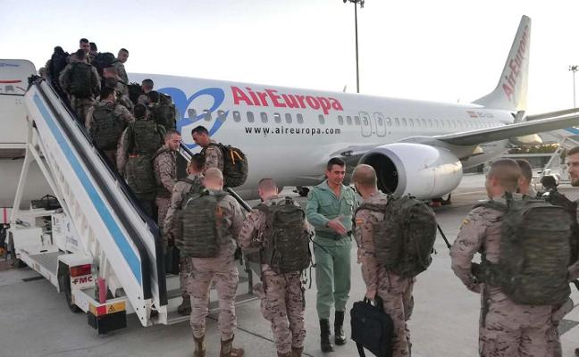 Todo previsto para la salida de un nuevo contingente legionario a Mali