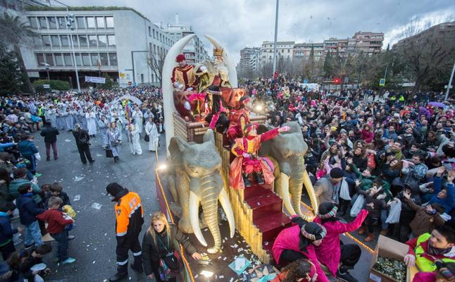 Recorrido y horario de la Cabalgata de Reyes en Granada: mapa e itinerario