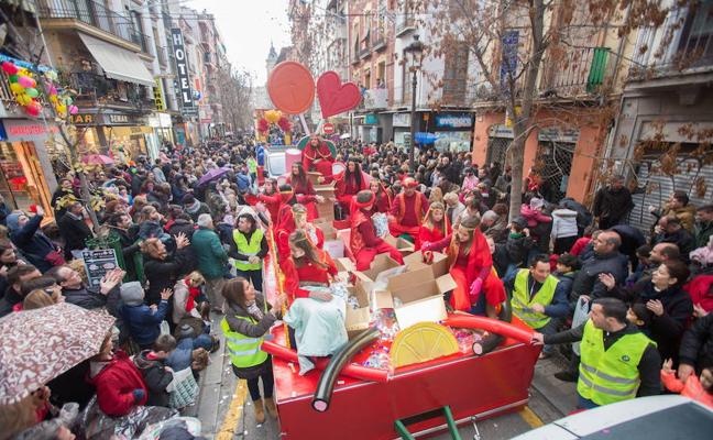 El mapa de la Cabalgata de Reyes en Granada: horario y recorrido