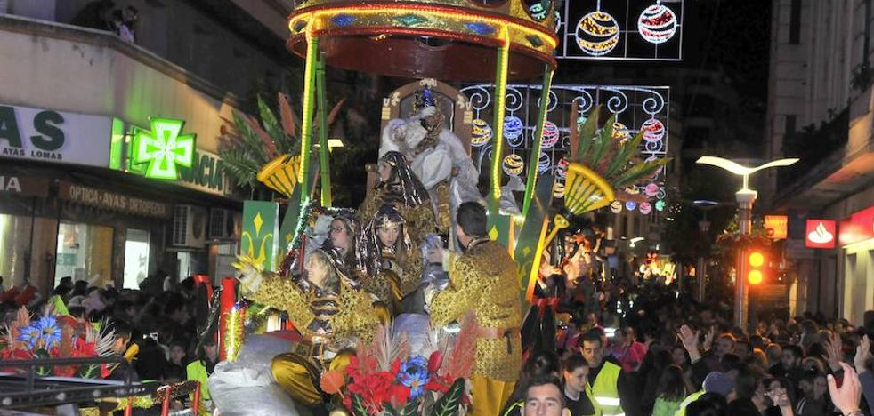 La Cabalgata de Reyes de Linares adelantará mañana su salida una hora por el riesgo de lluvia