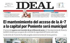En 2007: El mantenimiento del acceso de la A-7 a la capital por Poniente será municipal