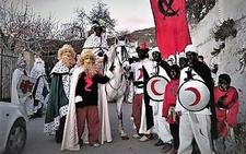 La Cabalgata de Reyes Magos que se realiza en la localidad alpujarreña de Cádiar cumple 73 años